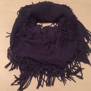 Accessories - Navy Tube Scarf